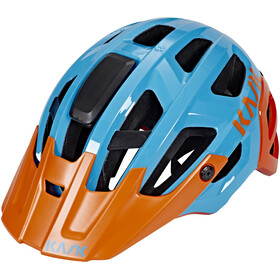 Kask Rex Helm hellblau/orange